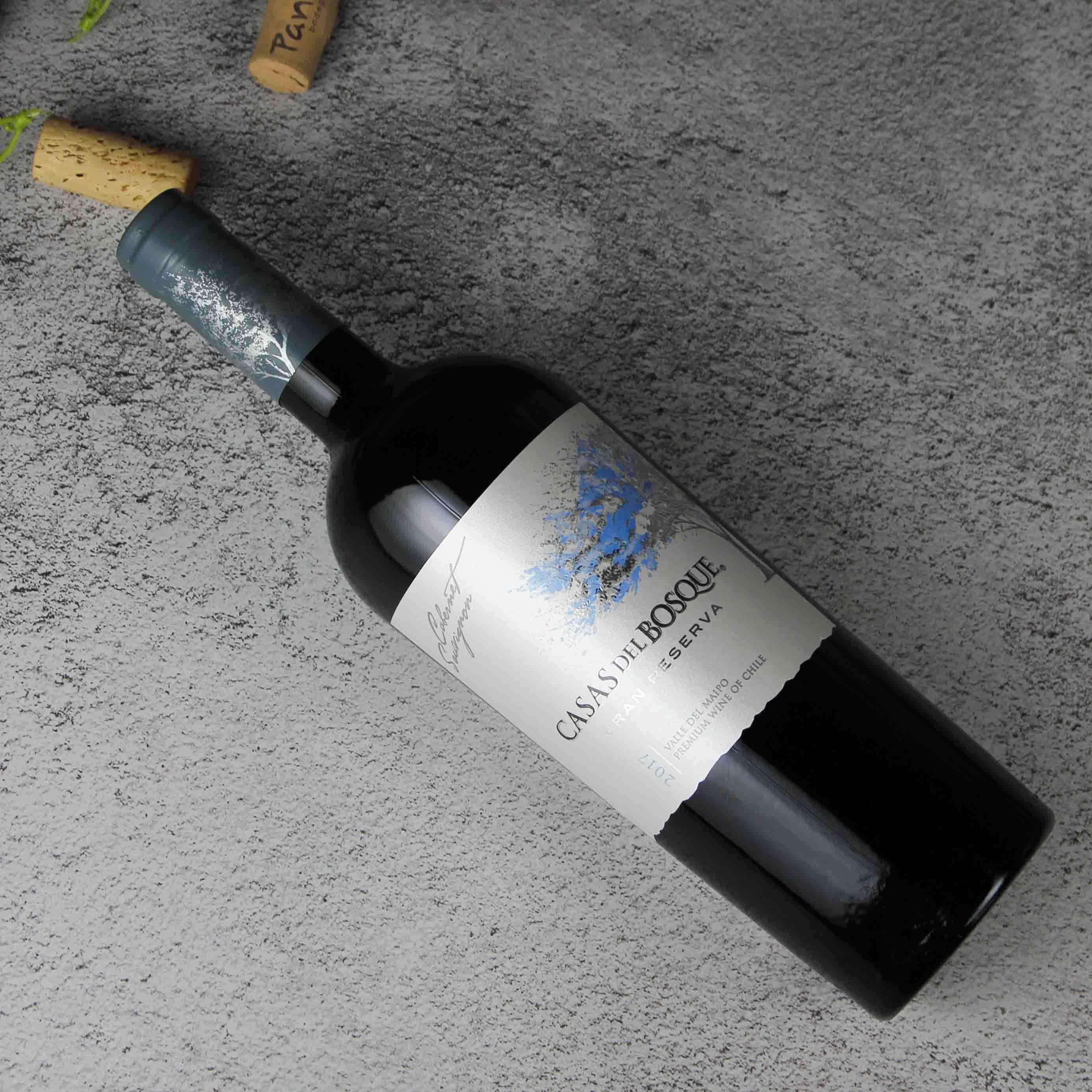 智利迈坡谷卡萨伯斯克特藏赤霞珠红葡萄酒红酒