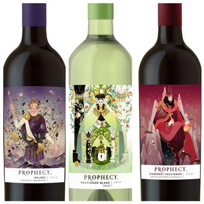 美国葡萄酒品牌Prophecy新增三款葡萄酒产品