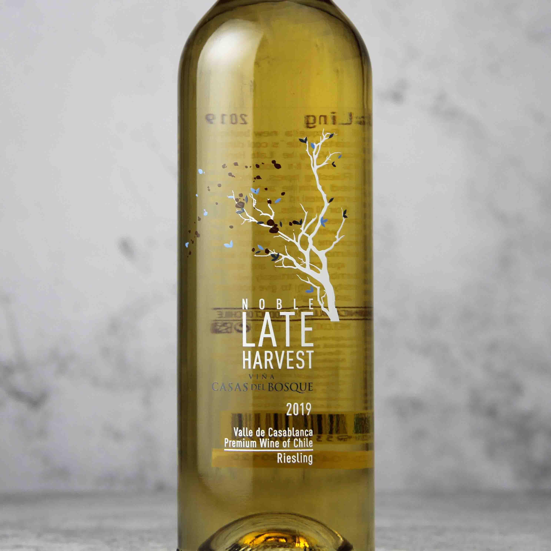 智利卡萨布兰谷卡萨伯斯克晚收贵腐白葡萄酒