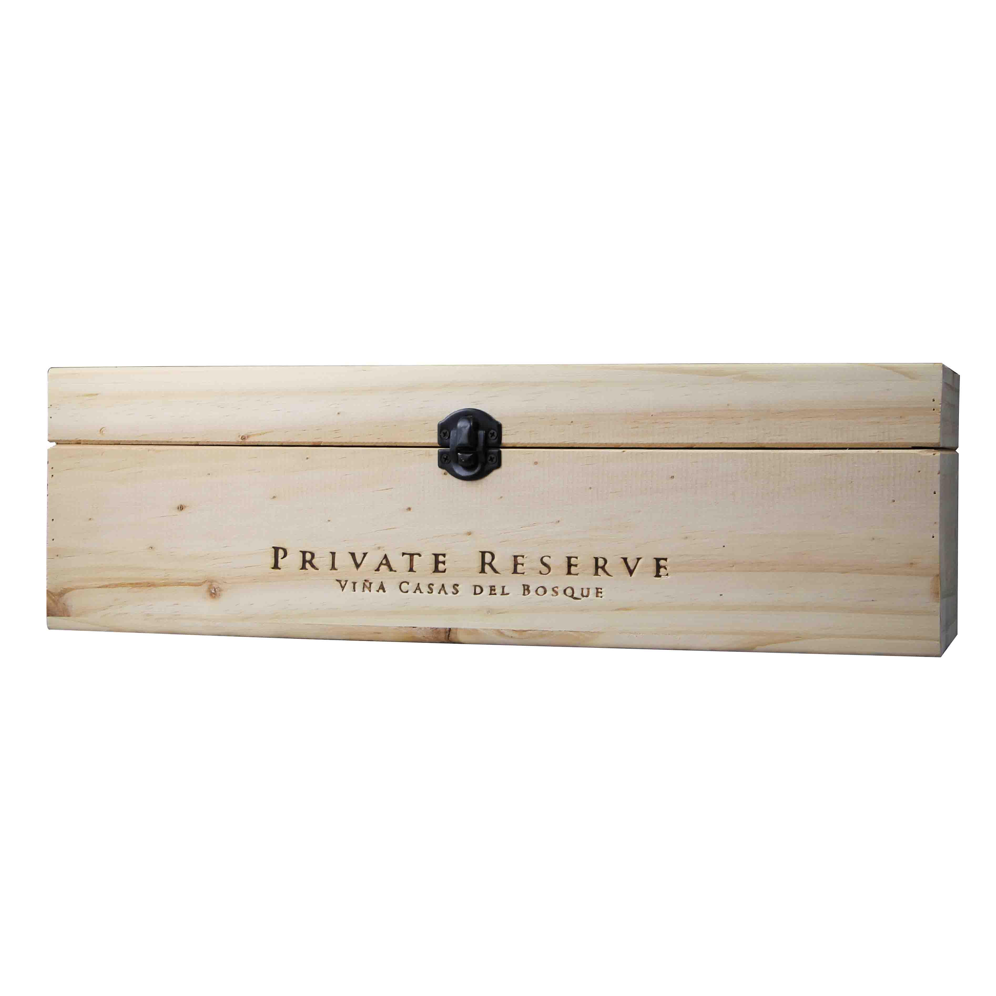 智利卡萨布兰谷卡萨伯斯克庄园西拉私藏红葡萄酒红酒