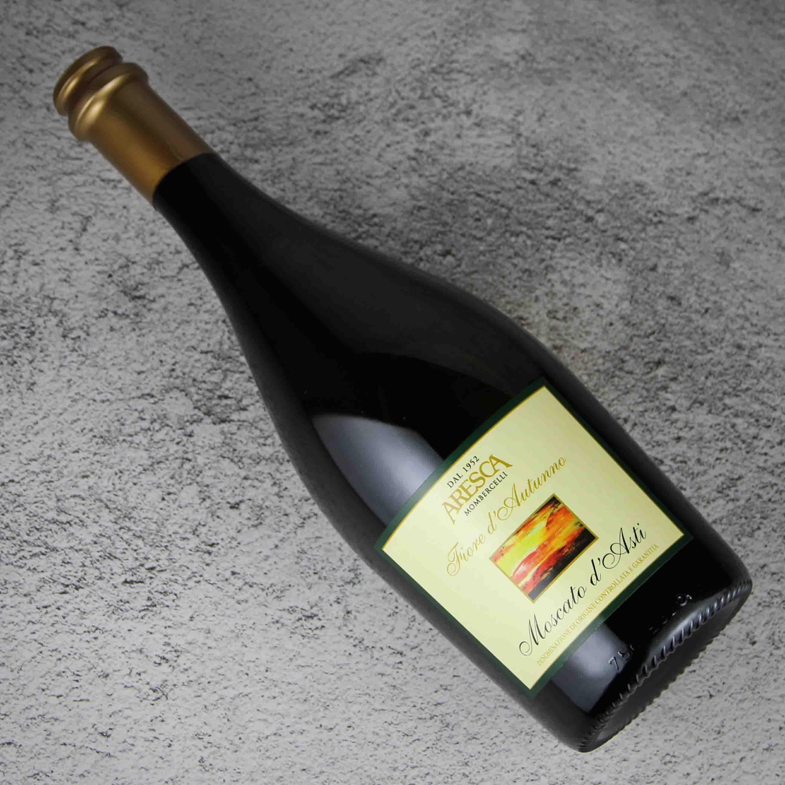 意大利皮埃蒙特ARESCA酒庄莫斯卡多·阿斯蒂甜白低泡葡萄酒