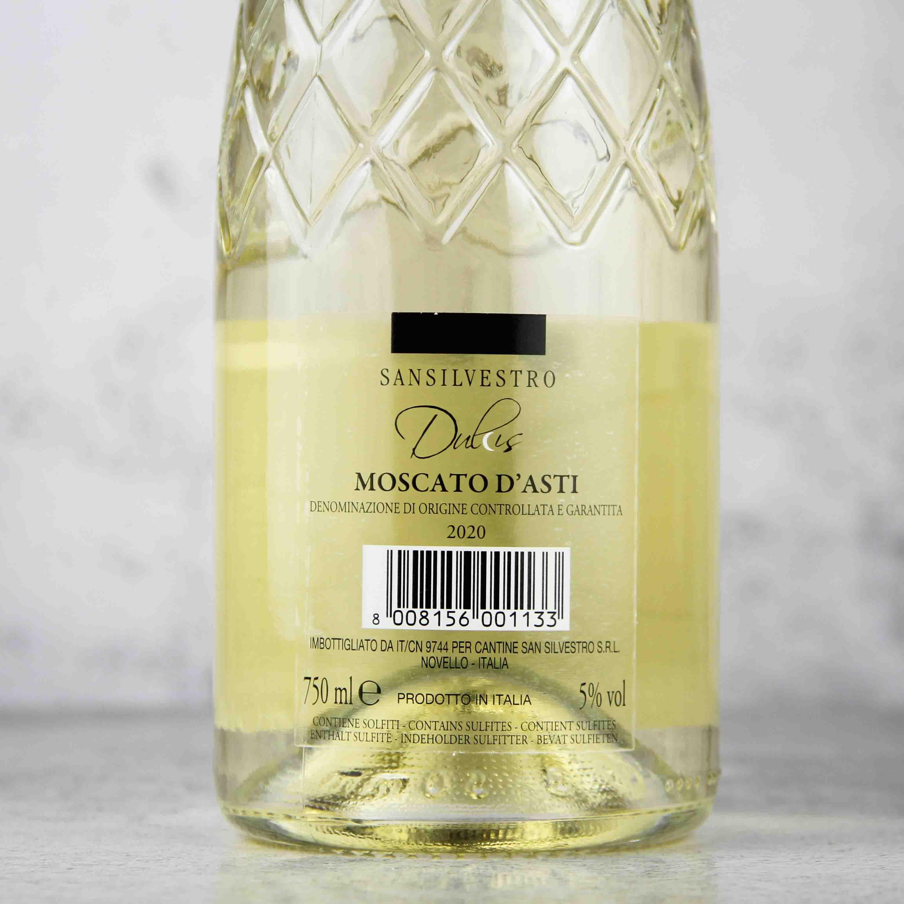 意大利皮埃蒙特阿斯都莫斯卡多白葡萄酒
