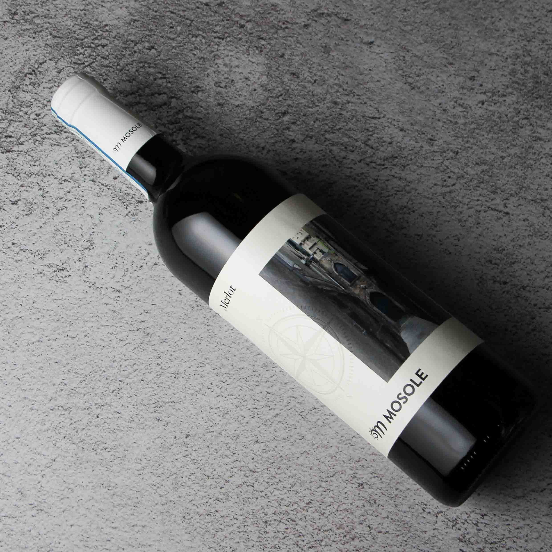 意大利威尼托莫斯勒梅洛干红葡萄酒