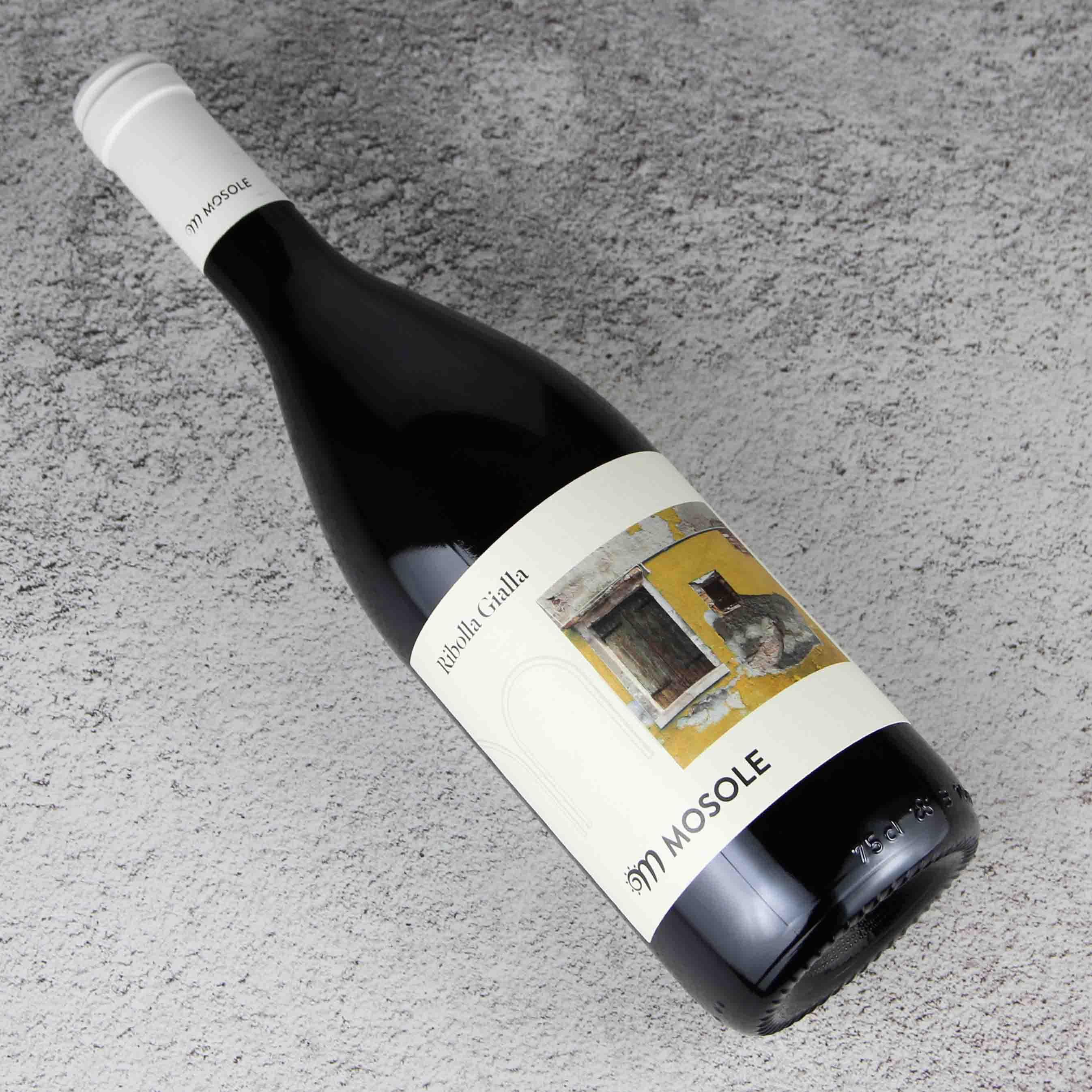 意大利威尼托莫斯勒金黄丽波拉干白葡萄酒