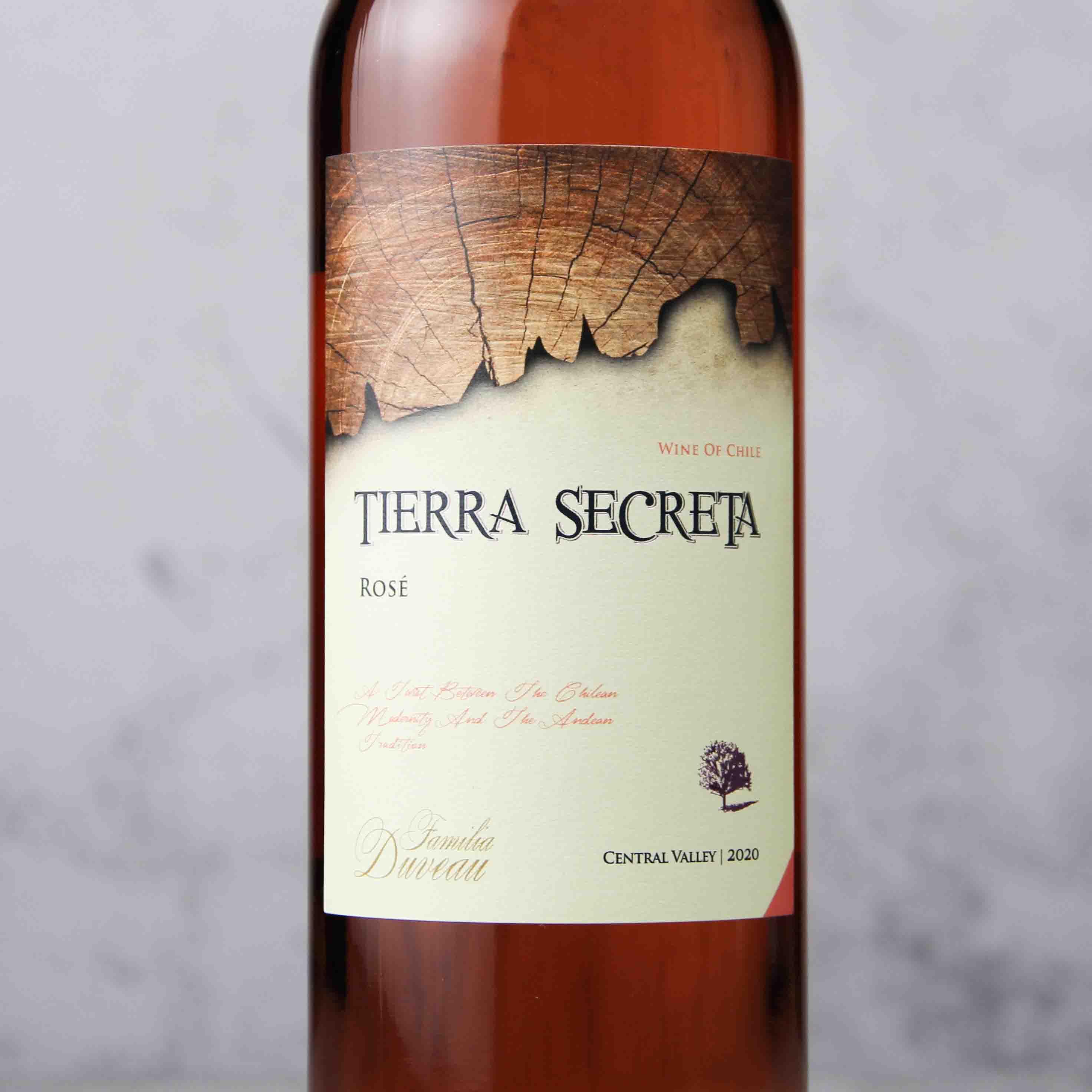智利中央山谷秘壤桃红葡萄酒