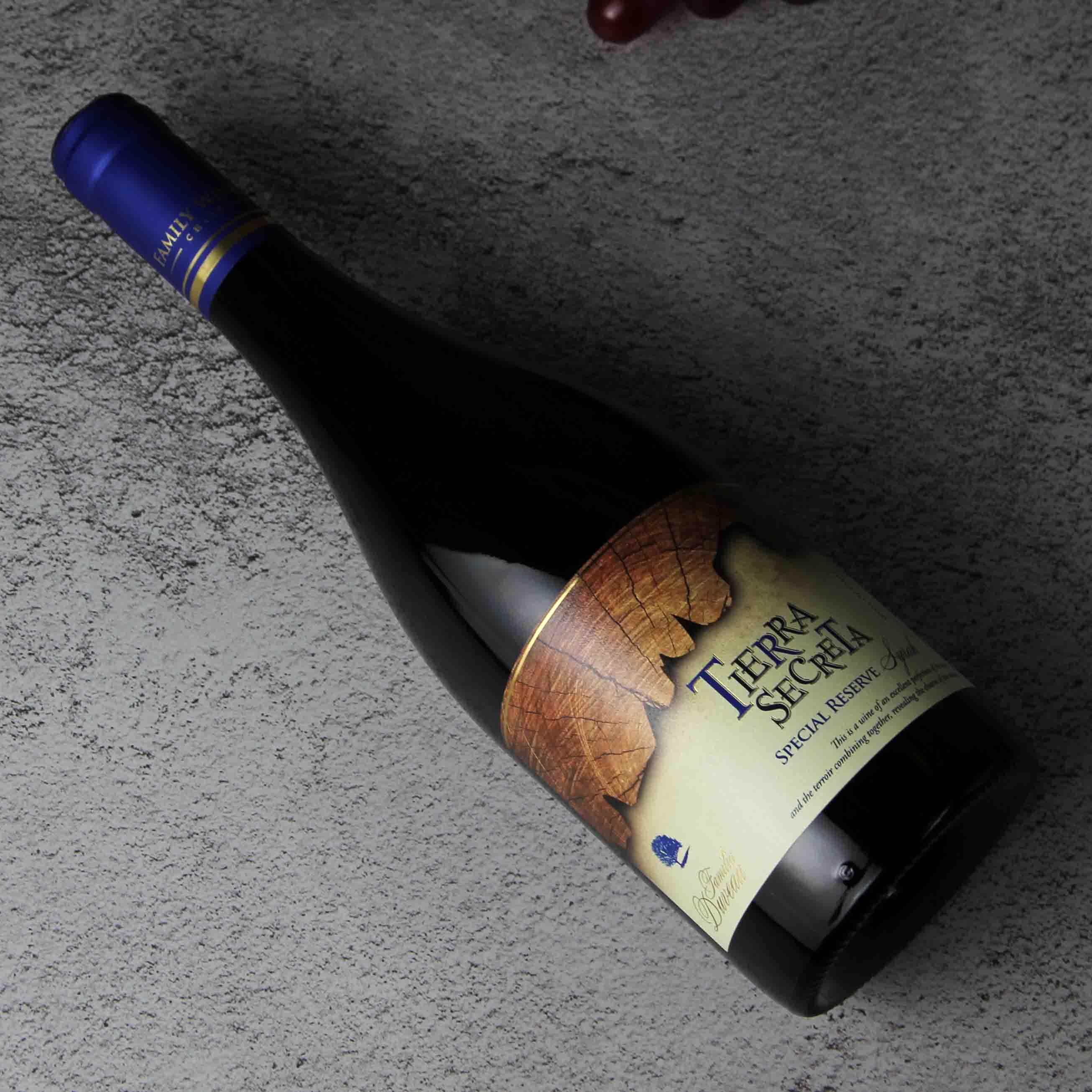 智利中央山谷秘壤特别珍藏西拉红葡萄酒红酒