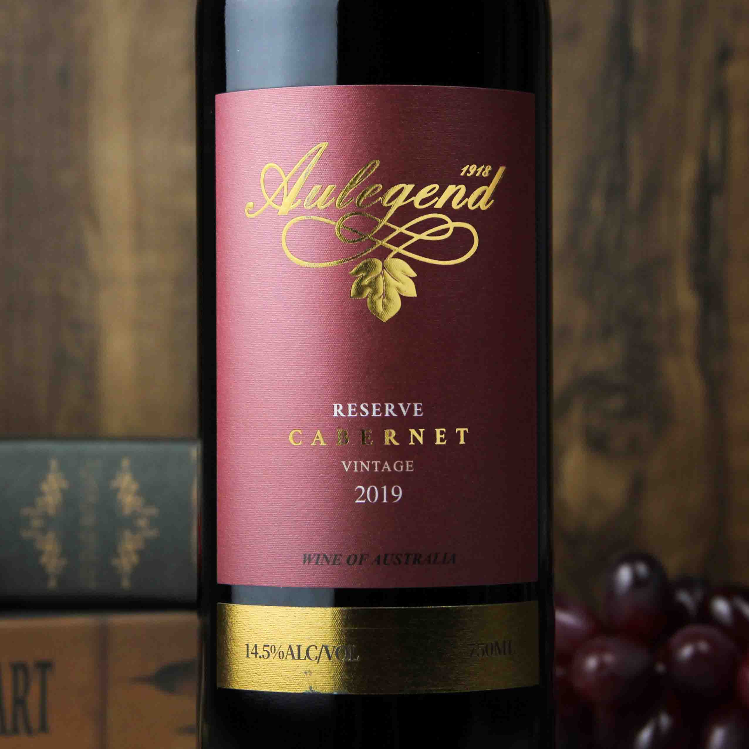 澳大利亚南澳·澳莱爵1918珍藏赤霞珠干红葡萄酒