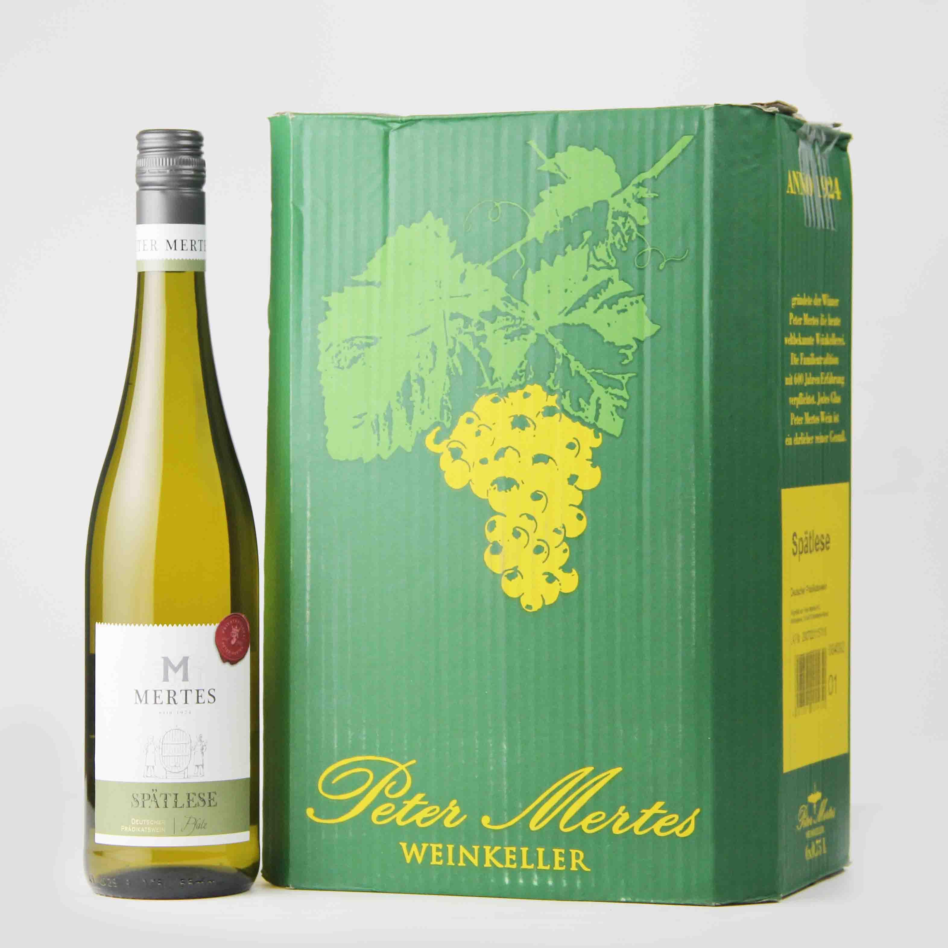 德国法茨彼得美德晚收甜白葡萄酒