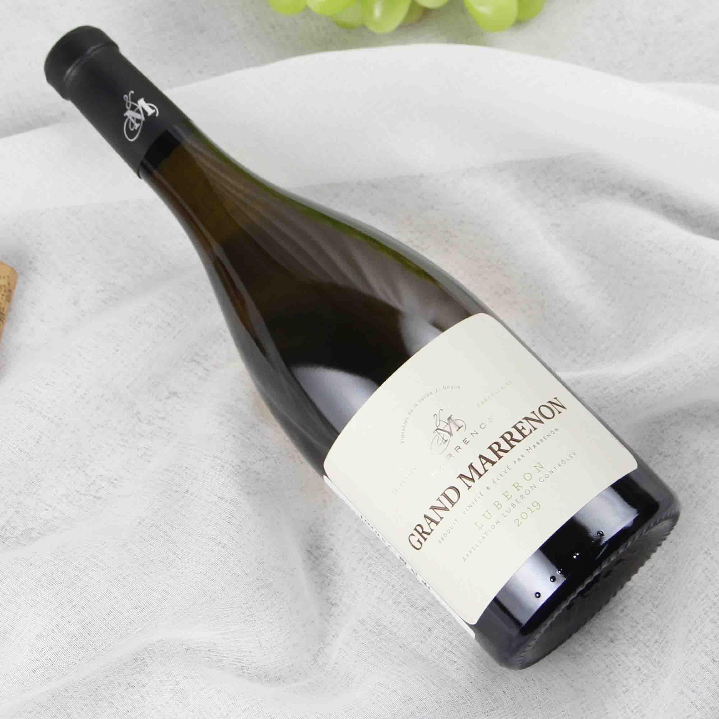 法国罗纳河谷大马赫农吕贝荣干白葡萄酒