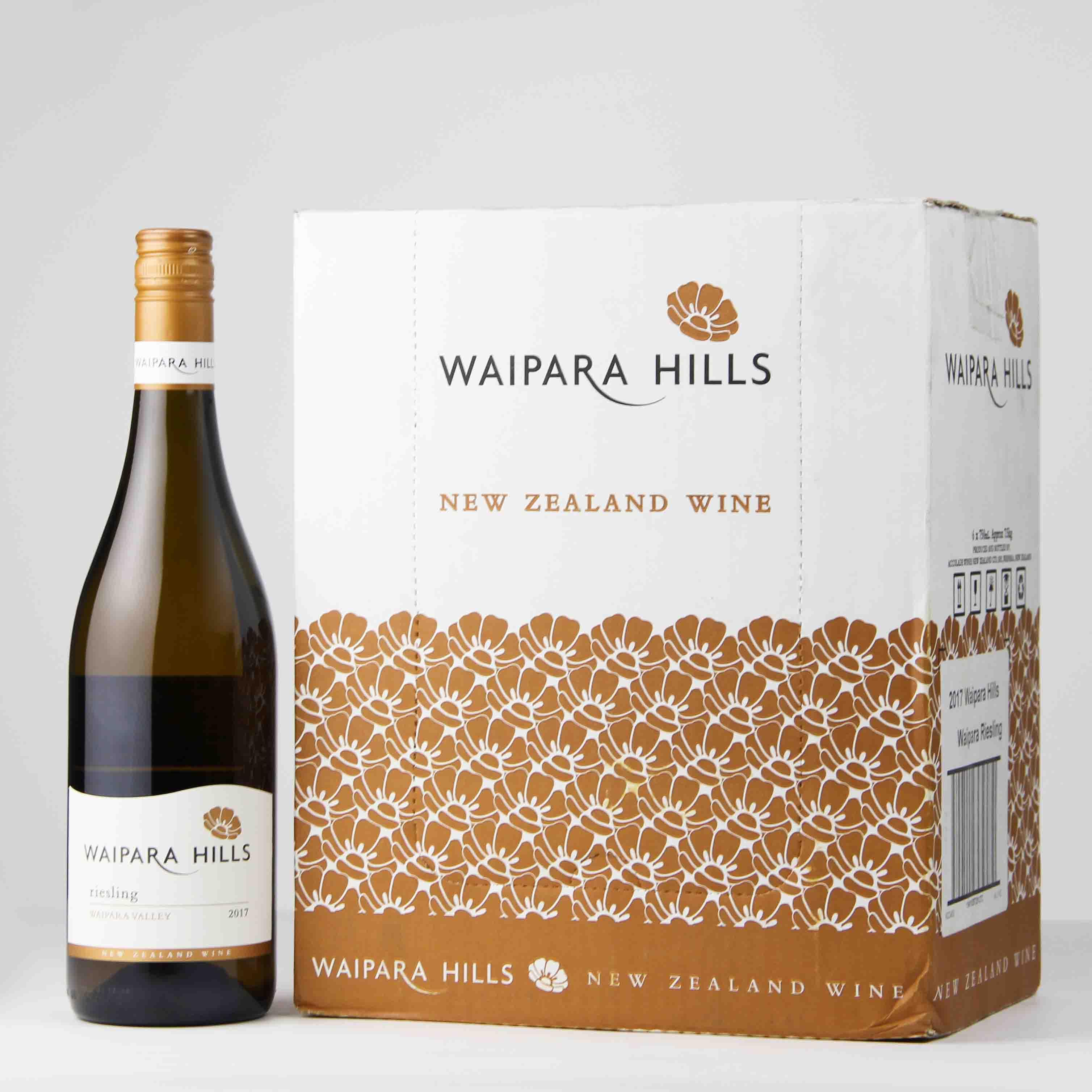 新西兰马尔堡怀帕拉山丘雷司令干白葡萄酒