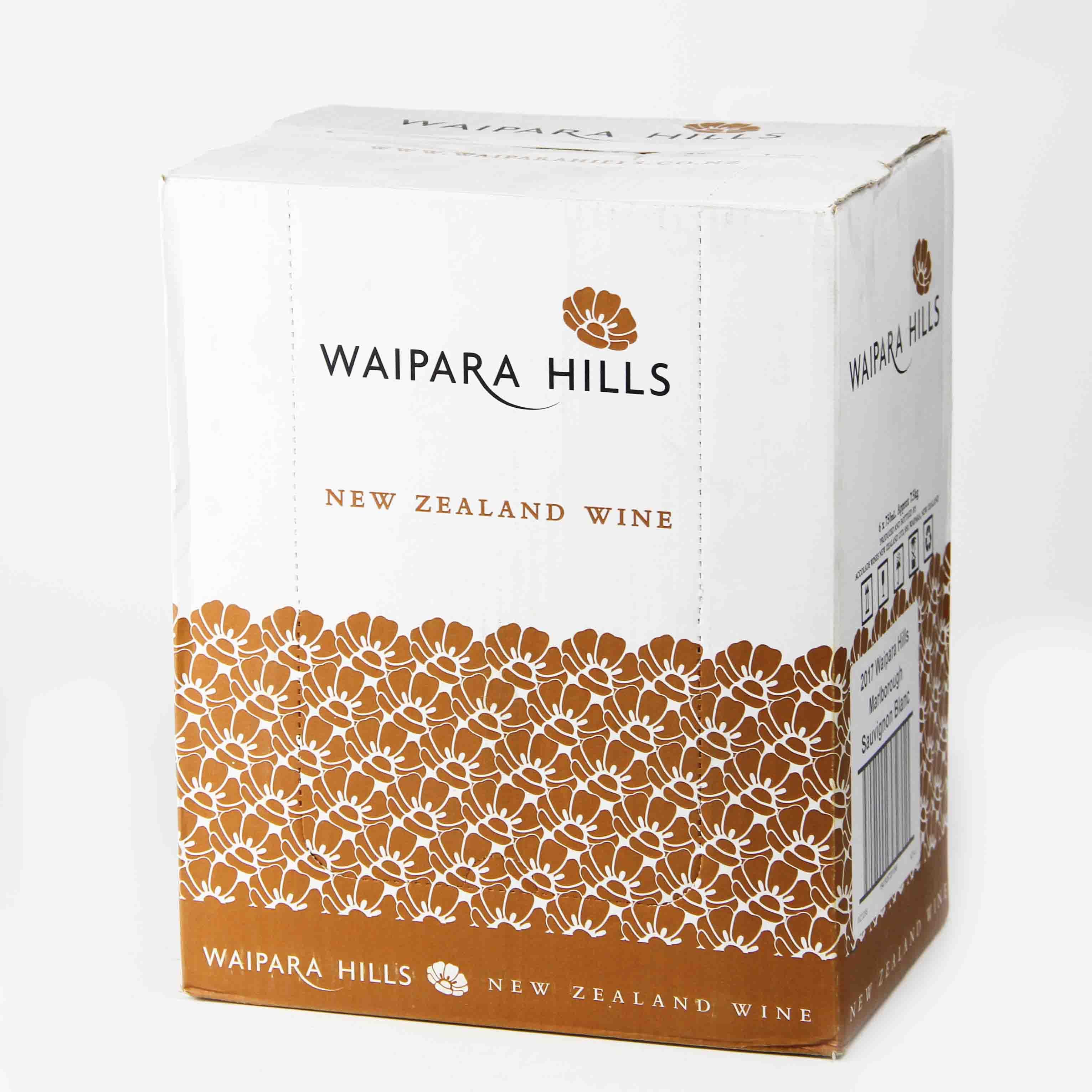 新西兰马尔堡怀帕拉山丘马尔堡长相思干白葡萄酒
