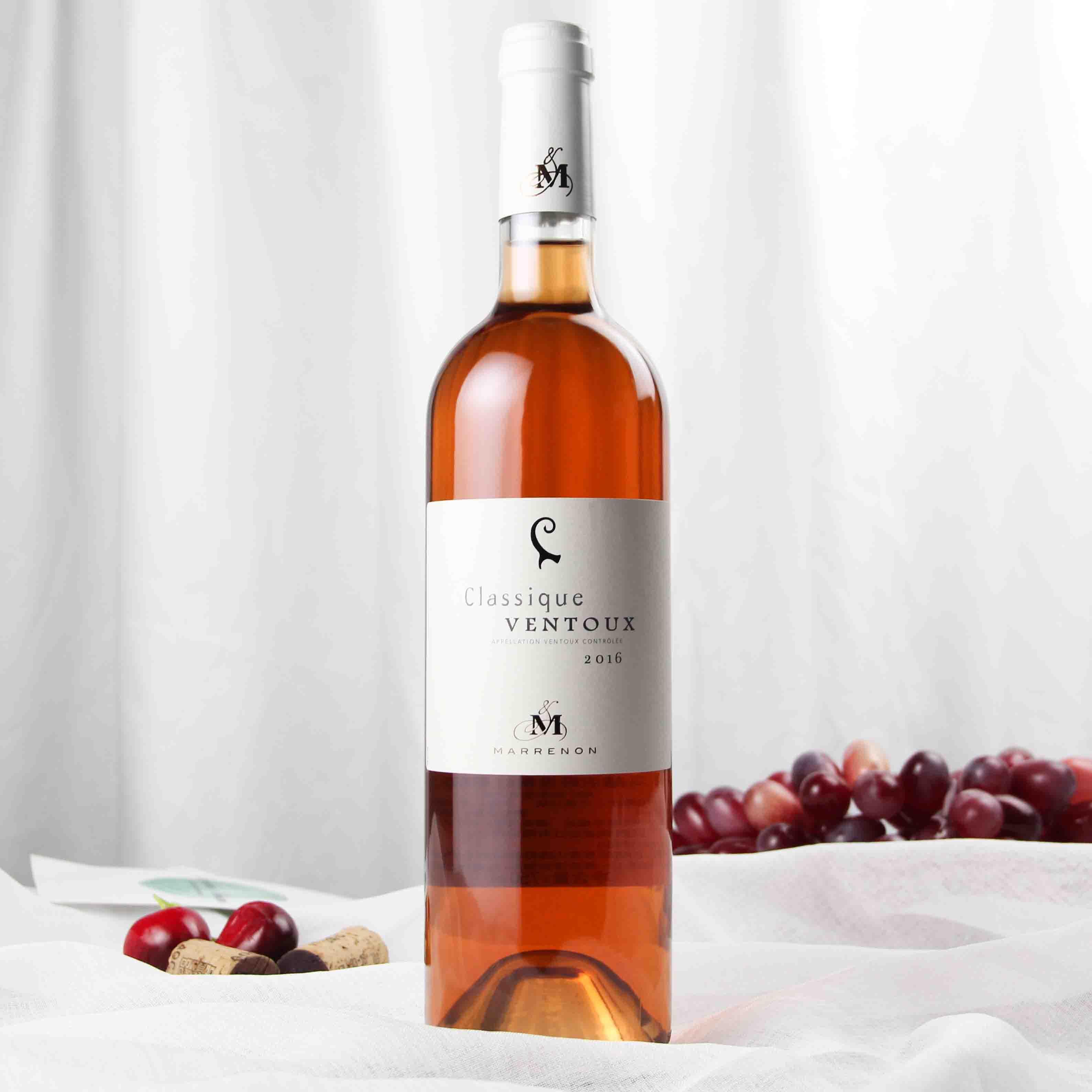 法国罗纳河谷马赫农旺度桃红葡萄酒