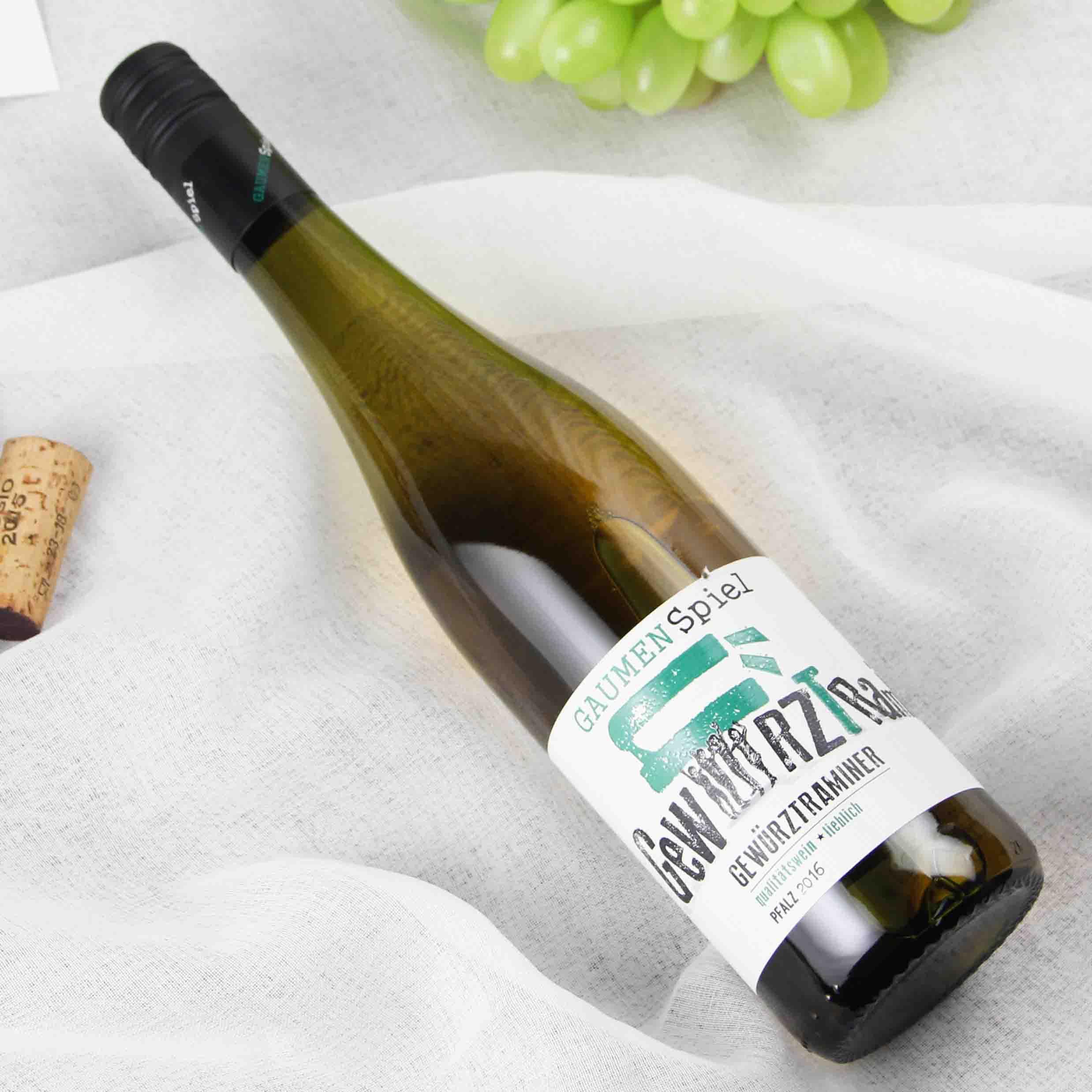 德国法茨赏味玩家琼瑶浆法茨半甜白葡萄酒