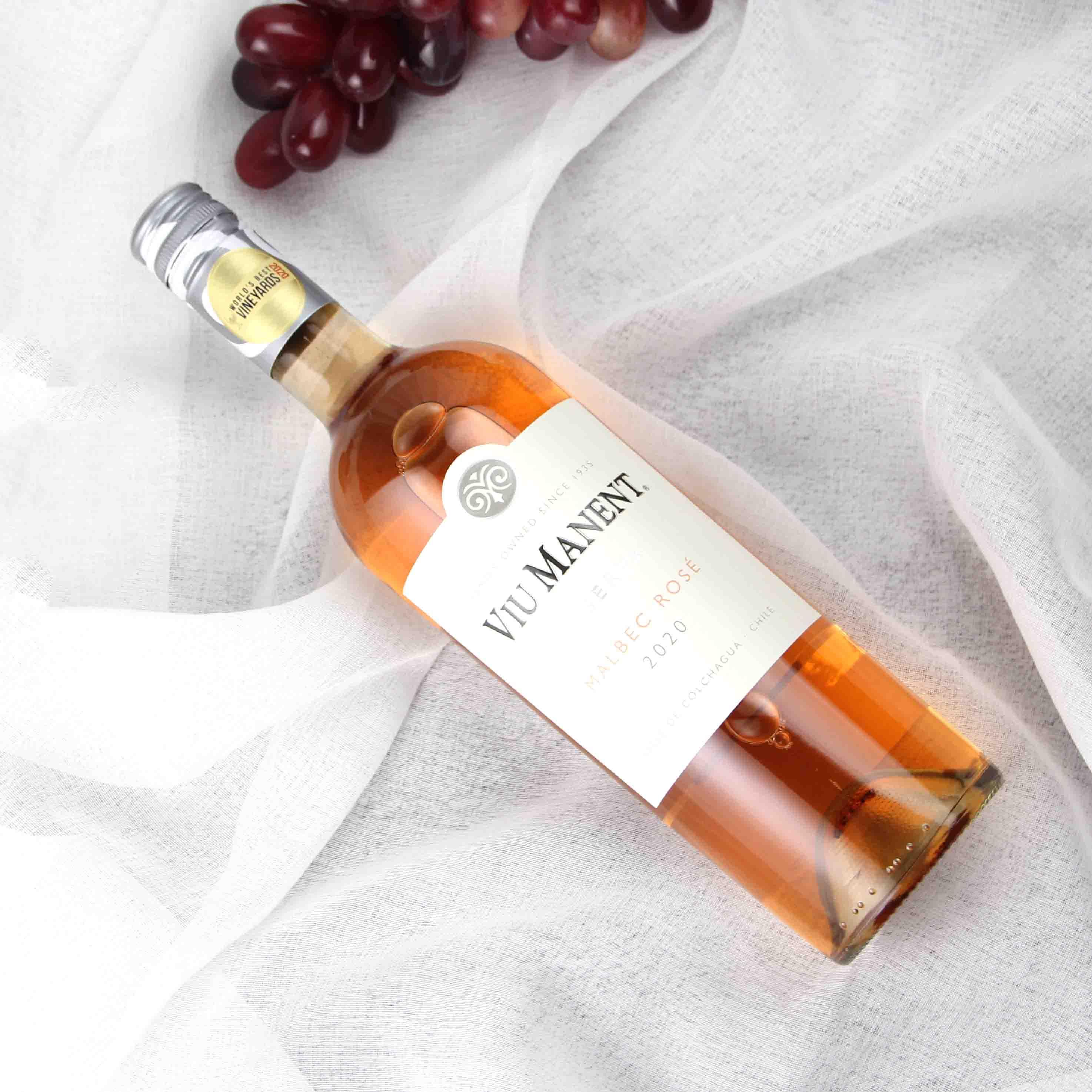 智利科尔查加瓜谷威马珍藏马尔贝克桃红葡萄酒