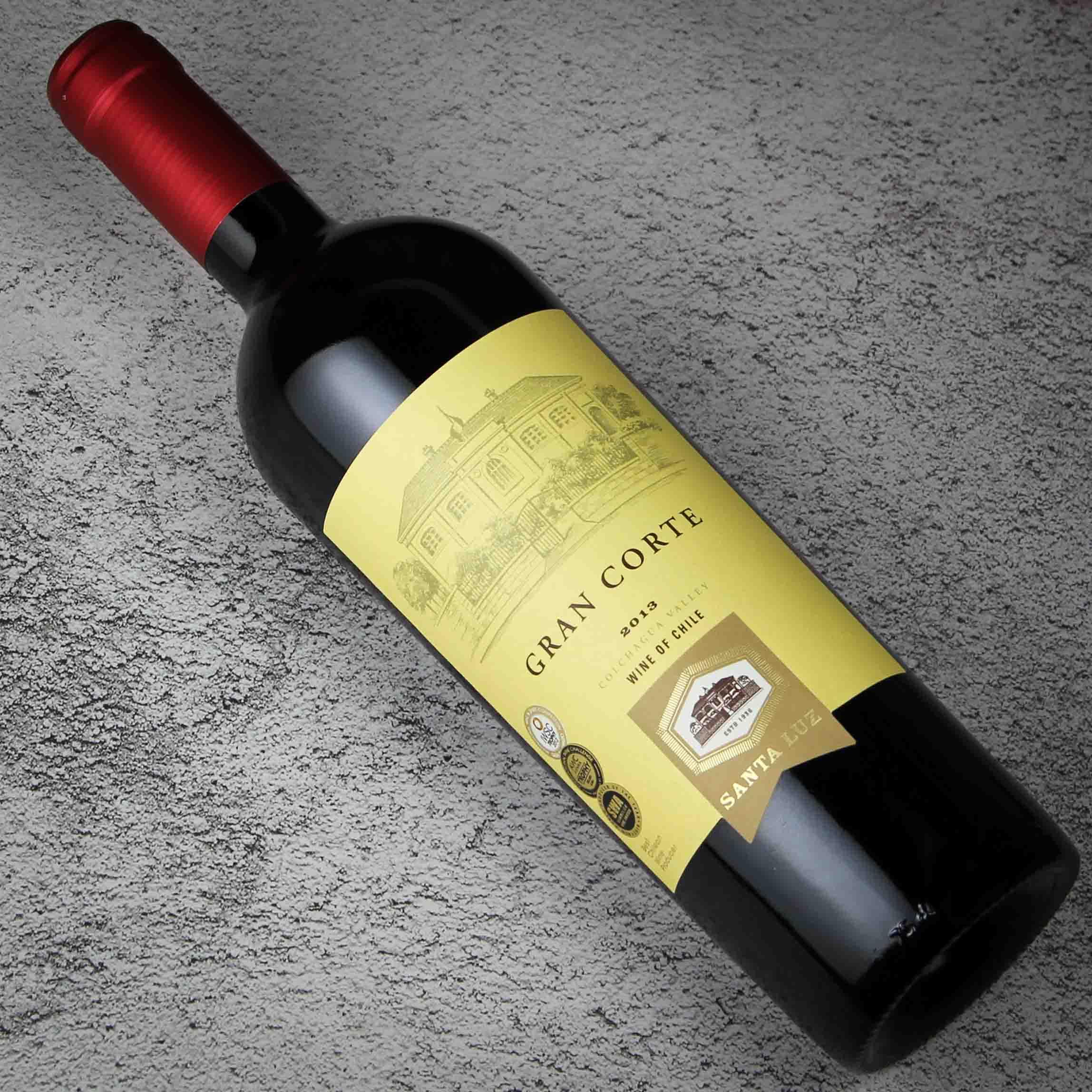 智利中央山谷桑塔露琪科尔特家族珍藏干红葡萄酒