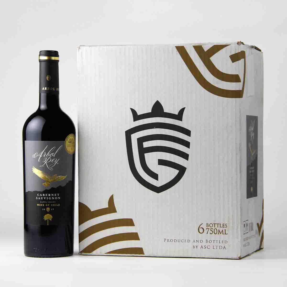 智利拉佩尔谷森林之王经典赤霞珠干红葡萄酒