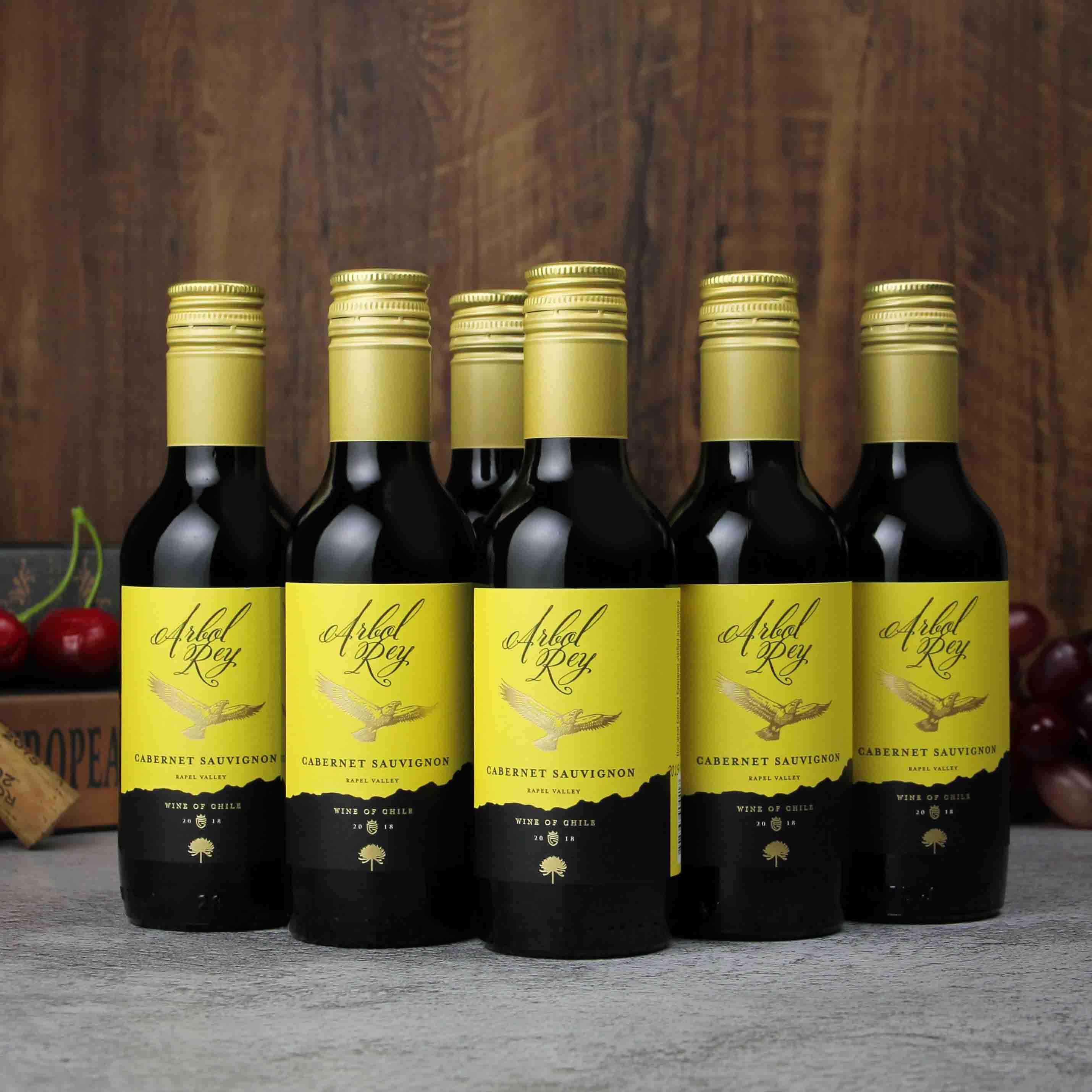 智利拉佩尔谷森林之王经典赤霞珠干红葡萄酒(187ML)