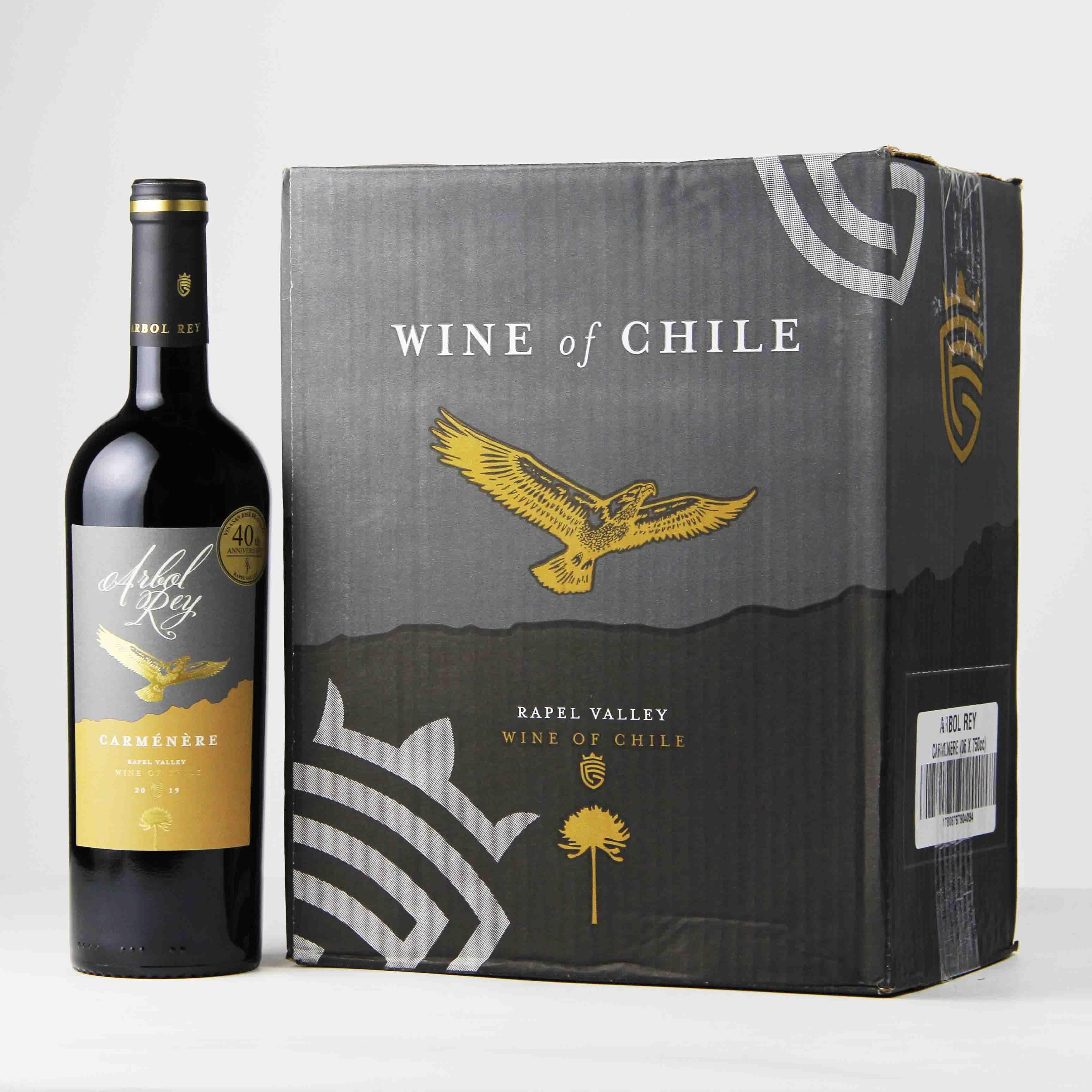 智利拉佩尔谷森林之王经典佳美娜干红葡萄酒