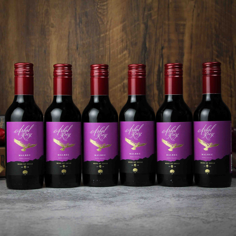 智利拉佩尔谷森林之王马贝克干红葡萄酒(187ML)