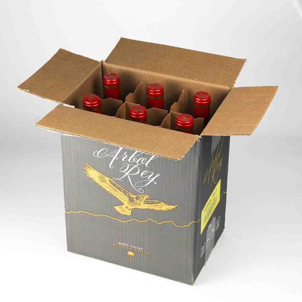 智利拉佩尔谷森林之王经典美乐干红葡萄酒