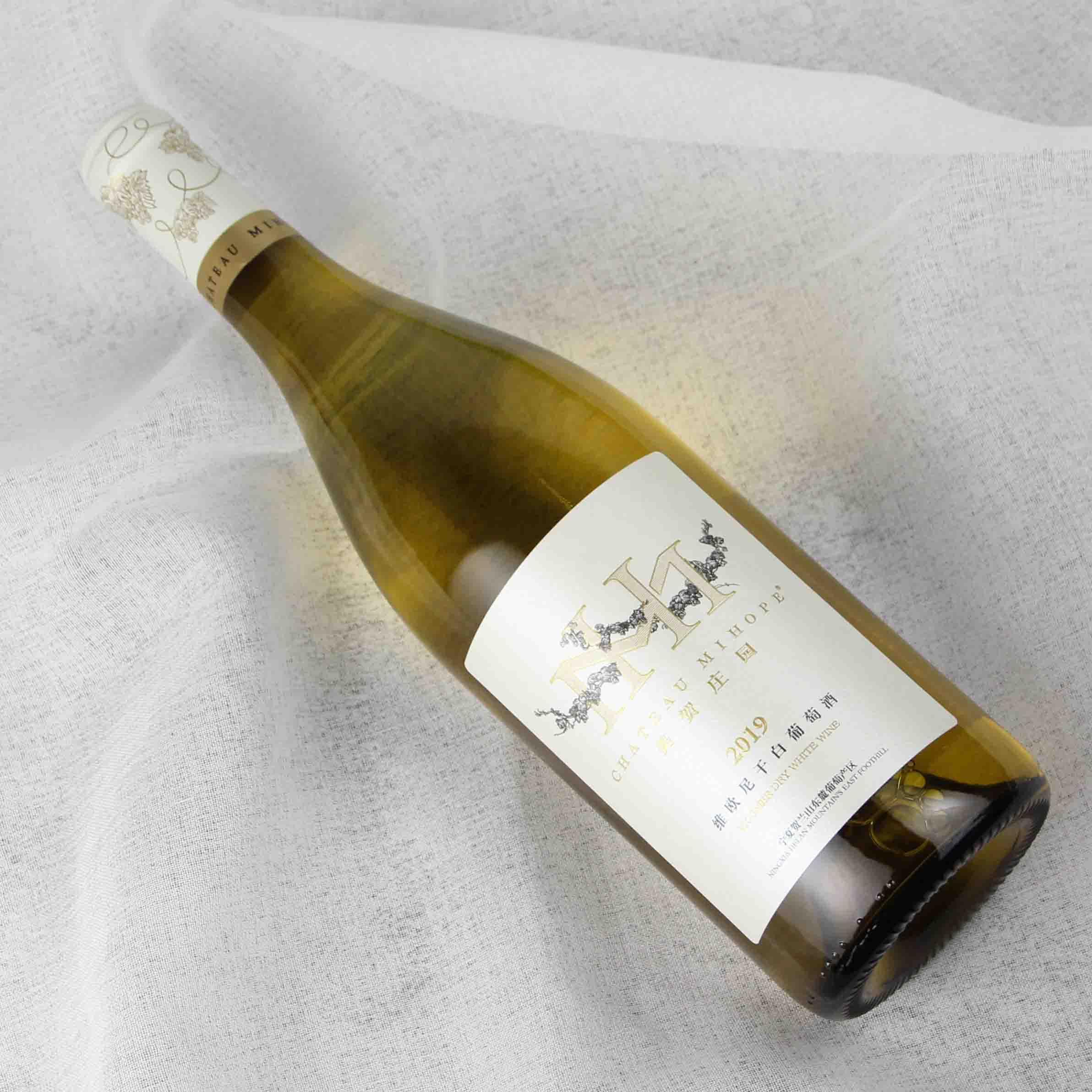 中国宁夏区美贺庄园2019维欧尼干白葡萄酒