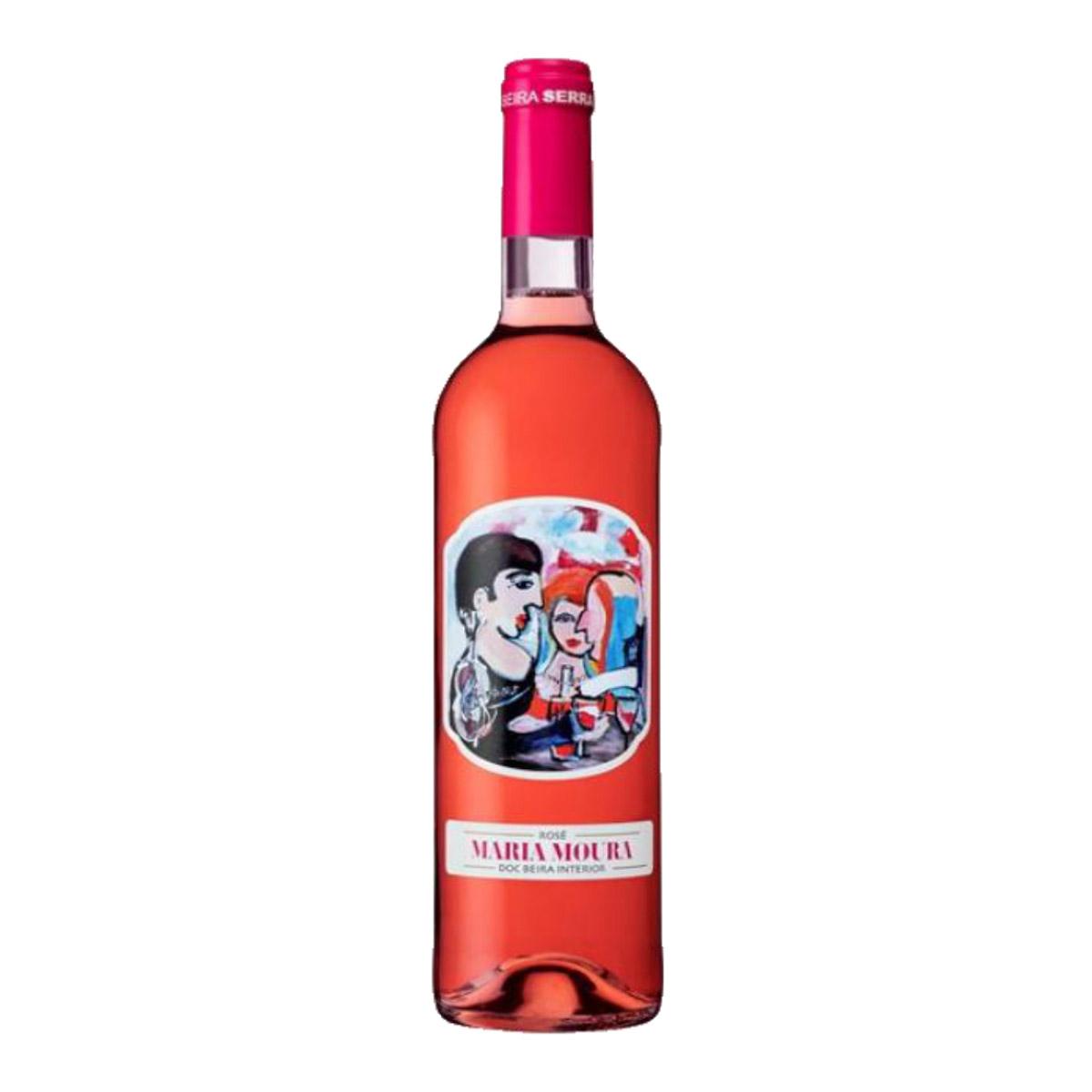 葡萄牙Maria Moura DOC 2018干桃红葡萄酒