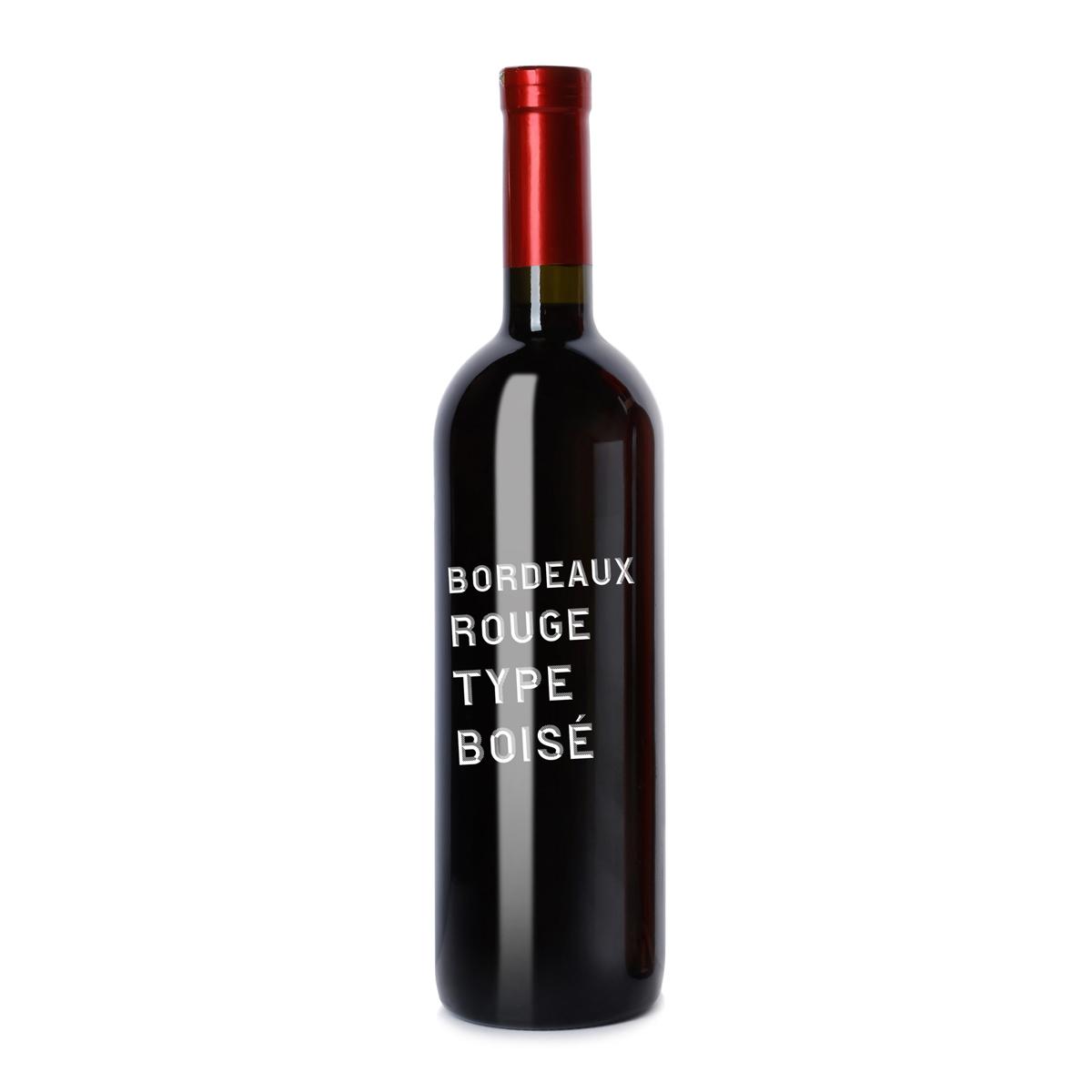 法国AOC Bordeaux red, aged in oak barrel
