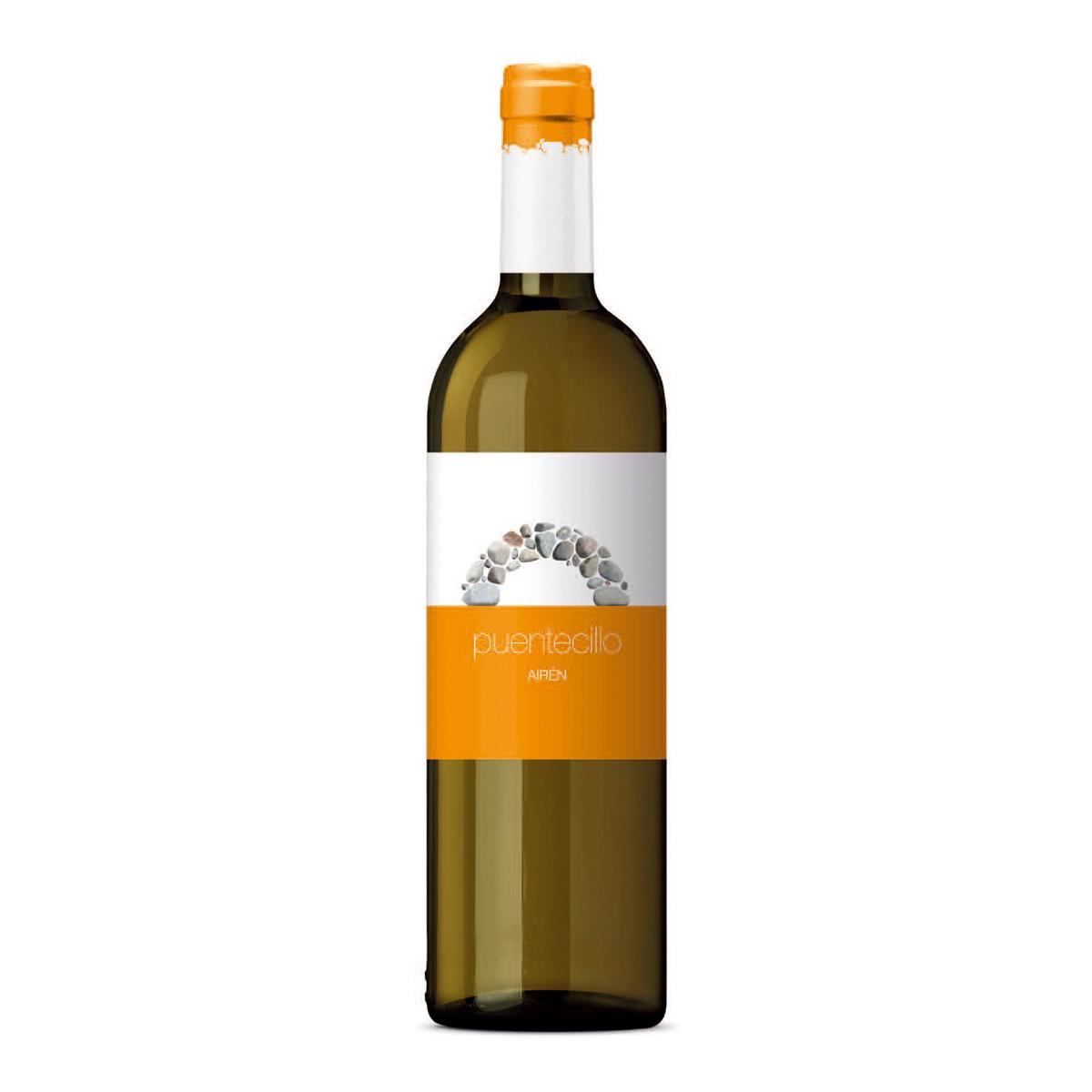 西班牙PUENTECILLO AIREN VARIETAL 爱人干白葡萄酒