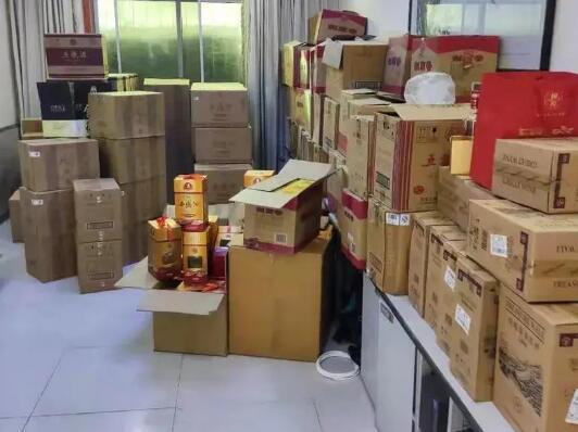 汉中市市监局开展假冒侵权商标白酒集中销毁活动