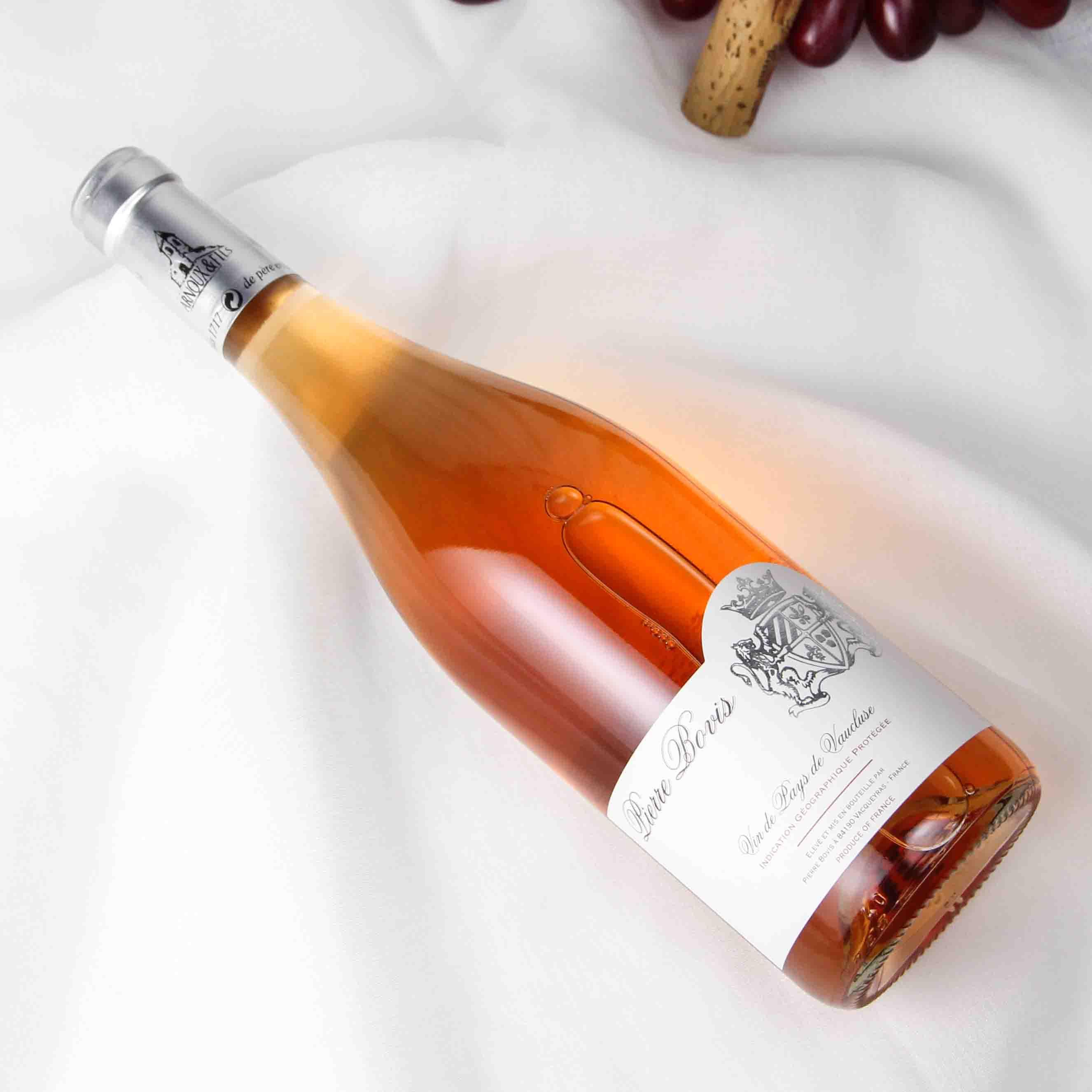 法国沃克吕兹产区皮埃尔博维斯玫瑰红葡萄酒