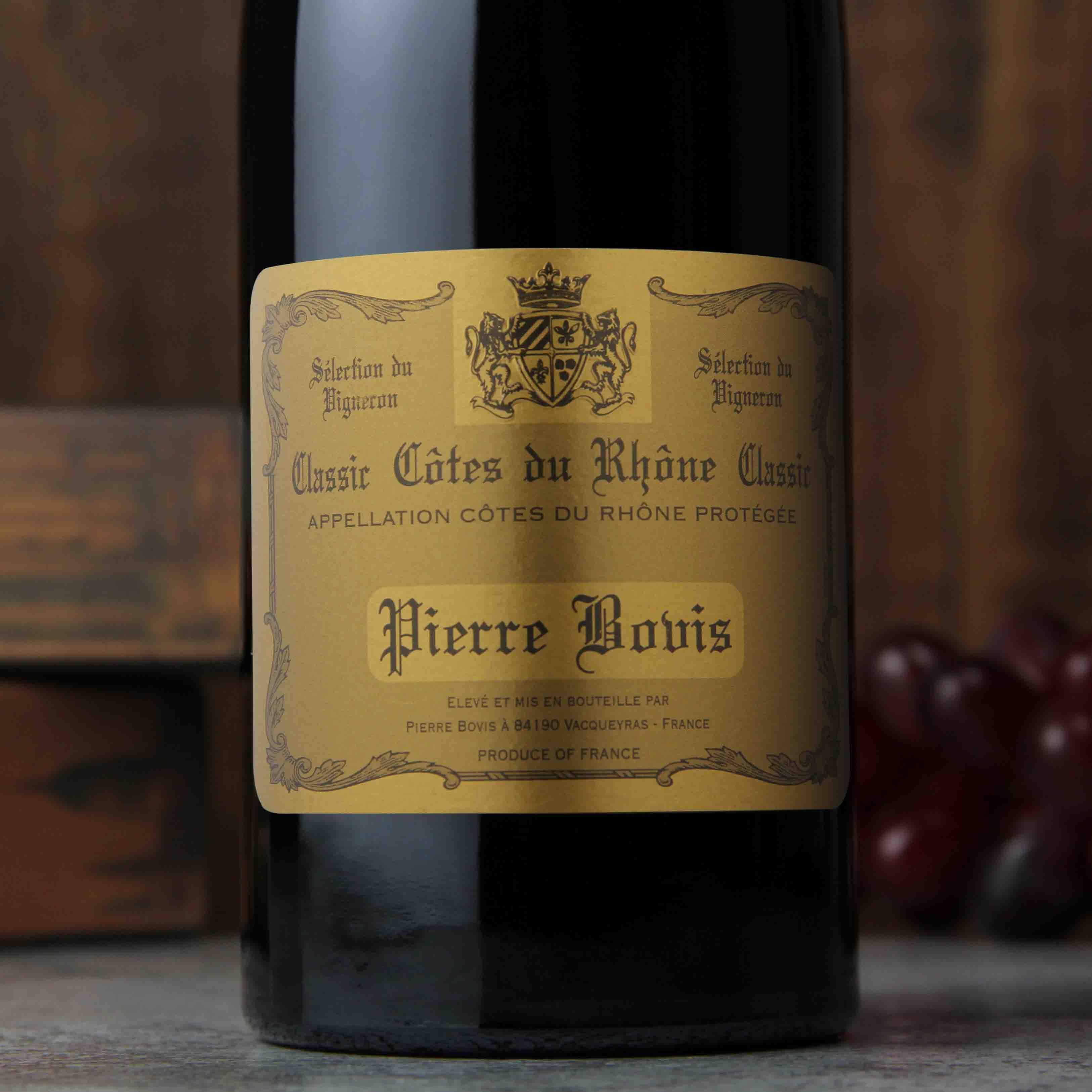 法国罗纳河经典干红葡萄酒
