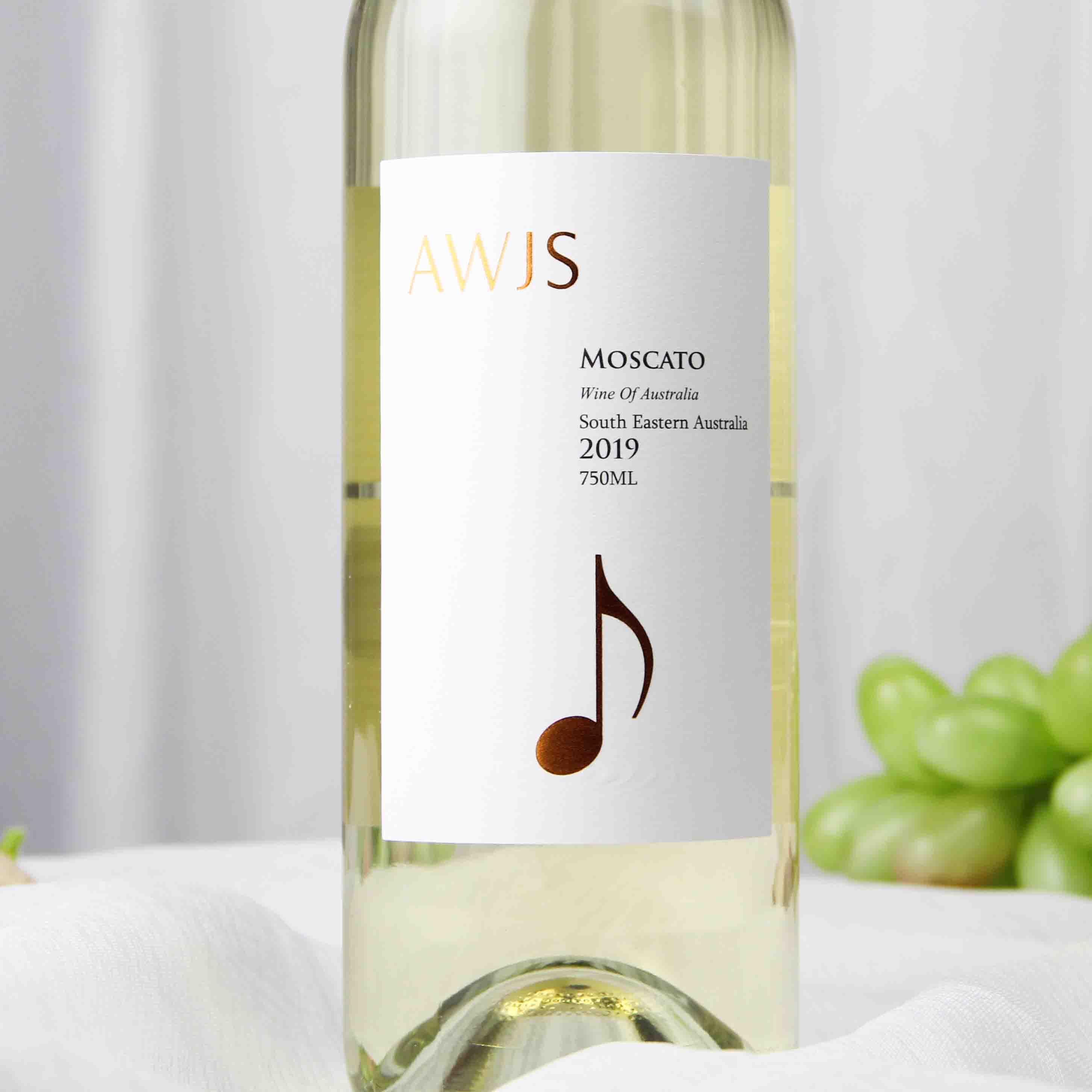 澳大利亚东南部音符·经典系列莫斯卡托低醇起泡白葡萄酒750ml