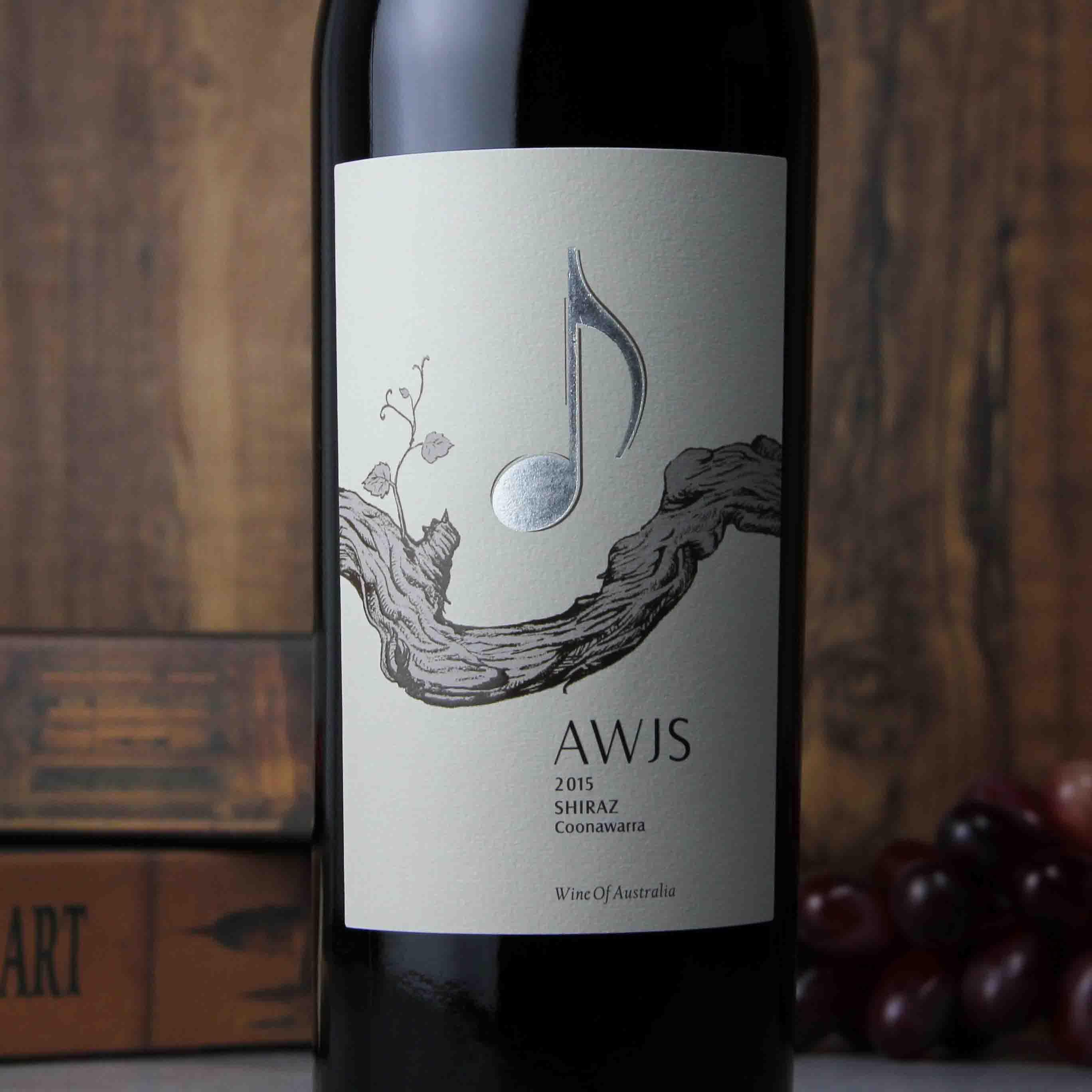 澳大利亚库纳瓦拉音符·威斯顿西拉红葡萄酒
