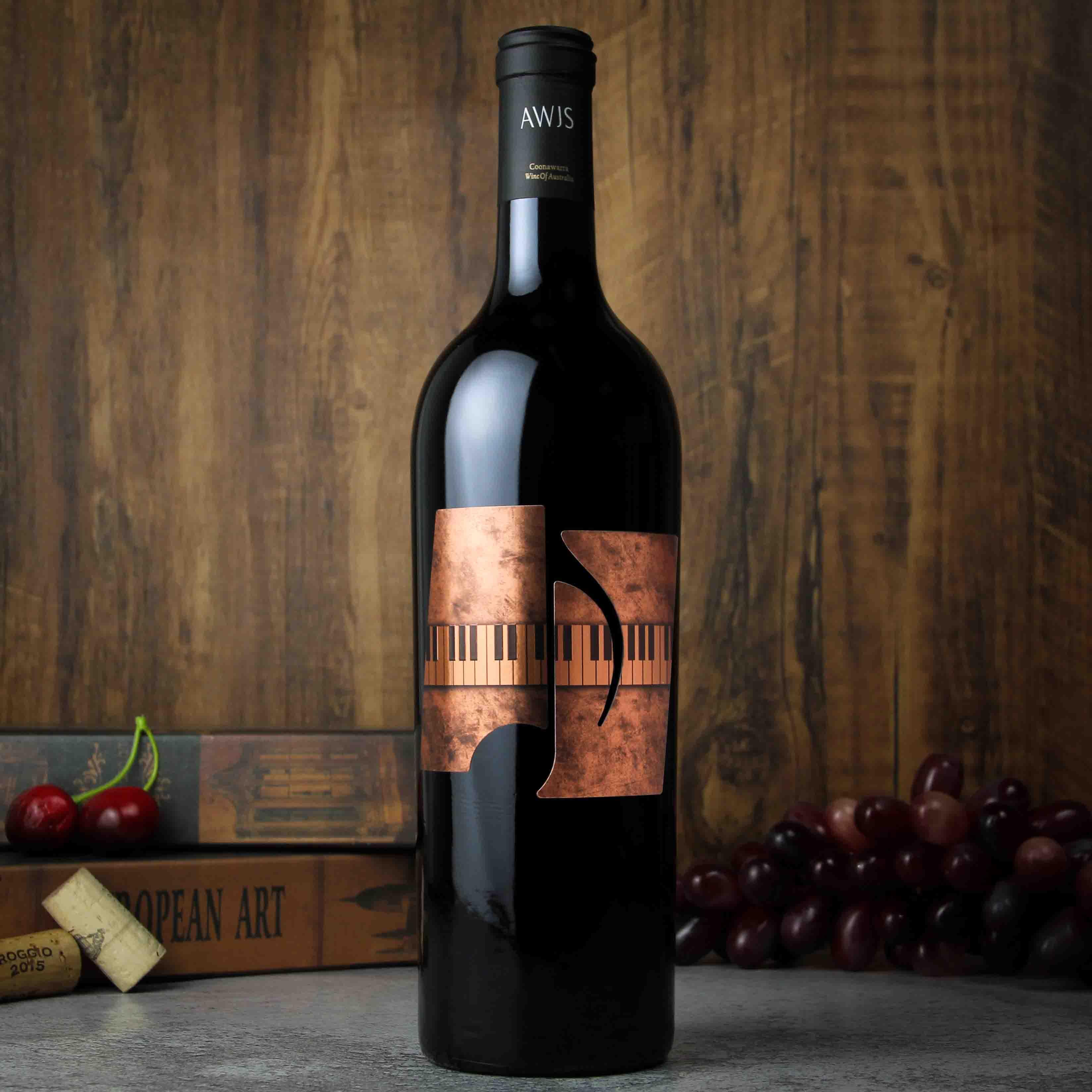 澳大利亚库纳瓦拉音符·辛赋利赤霞珠红葡萄酒