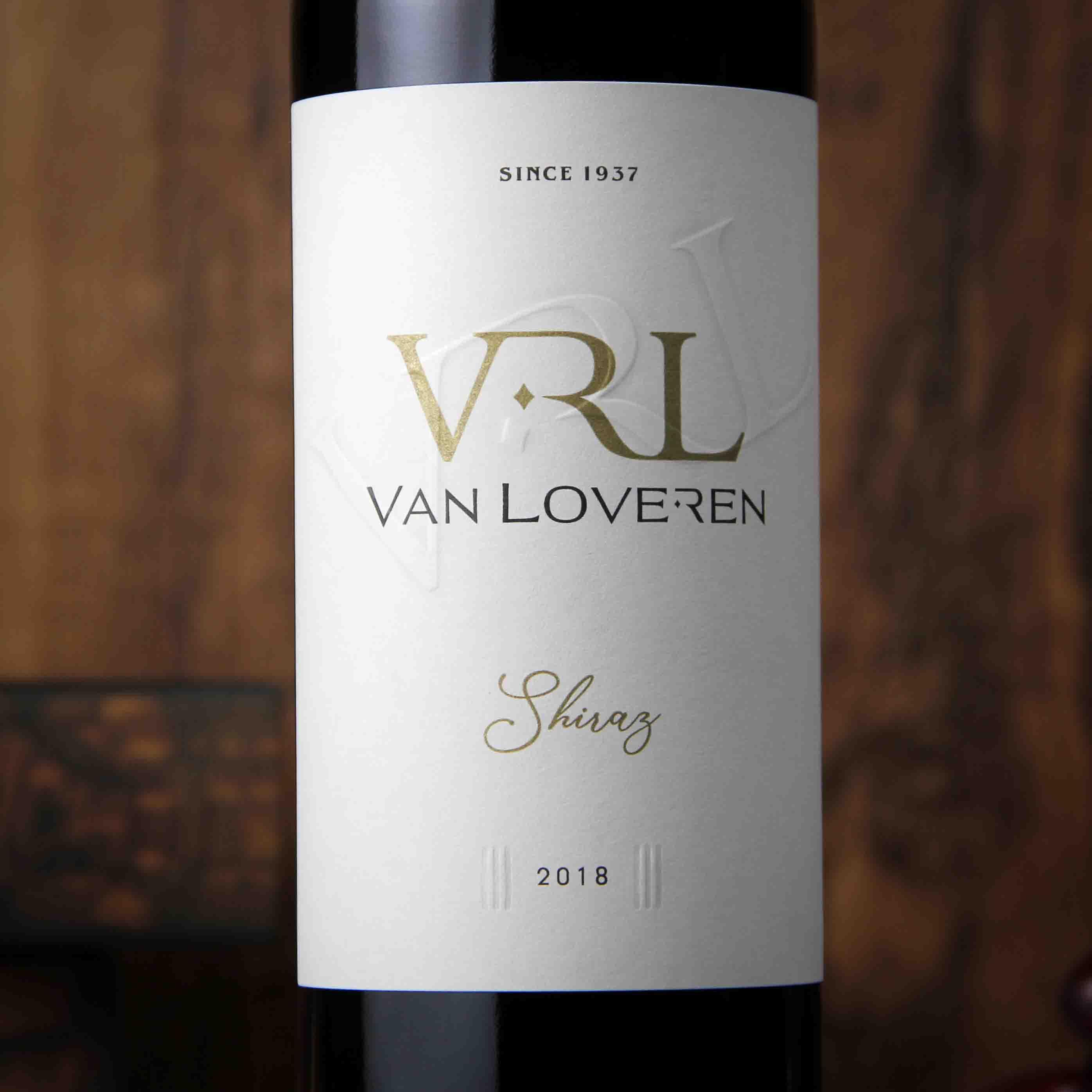 南非罗伯逊山谷梵劳伦酒庄西拉干红葡萄酒红酒