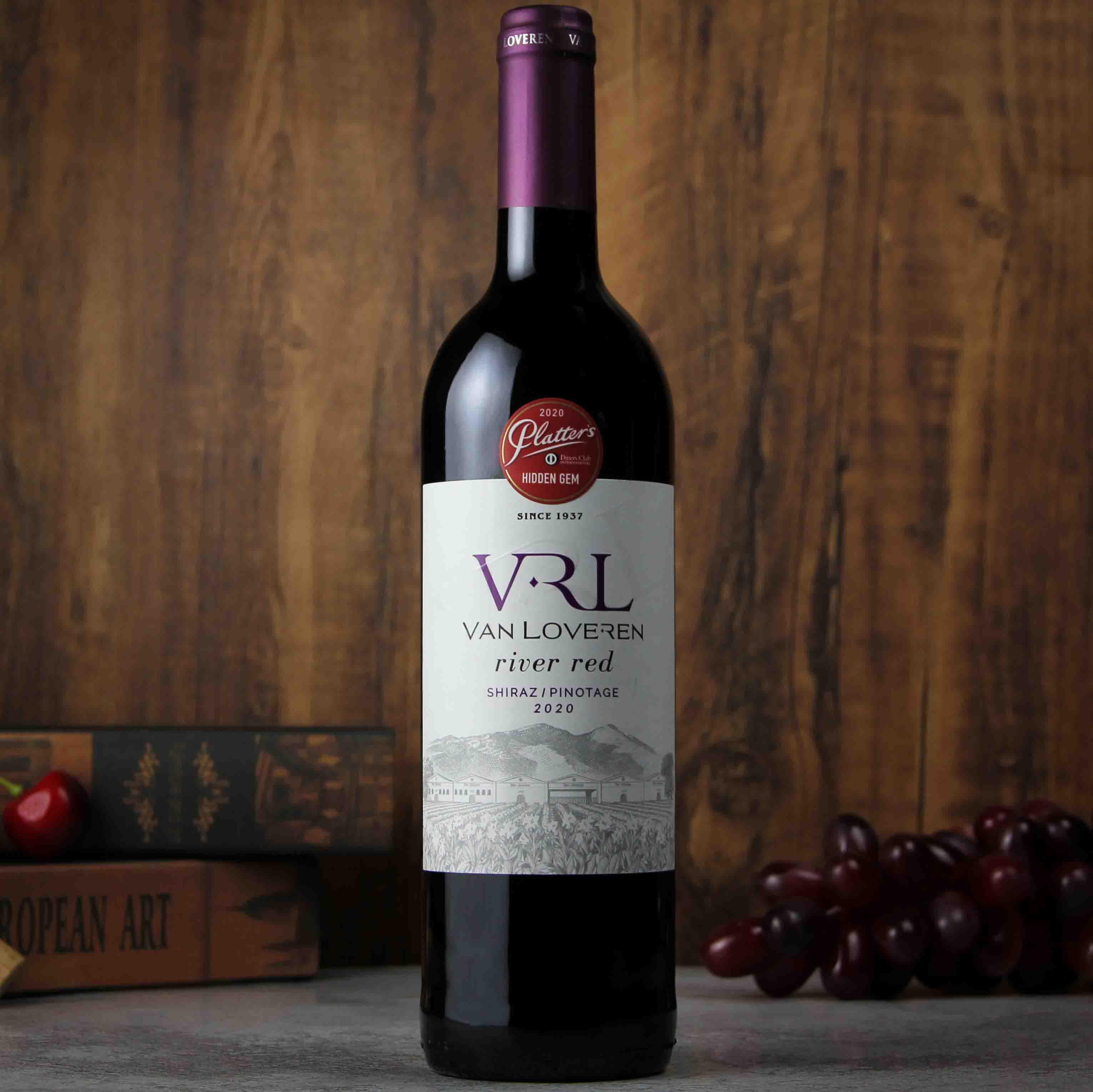 南非罗伯逊山谷梵劳伦河谷干红葡萄酒红酒