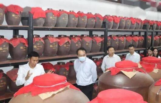 河南省统计局副局长到访调研蔡洪坊酒业