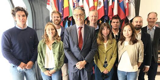 第33届国际葡萄酒管理硕士班在巴黎OIV总部开课