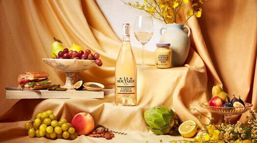 """Grey Poupon推出第一款佐餐葡萄酒""""芥末葡萄酒"""""""