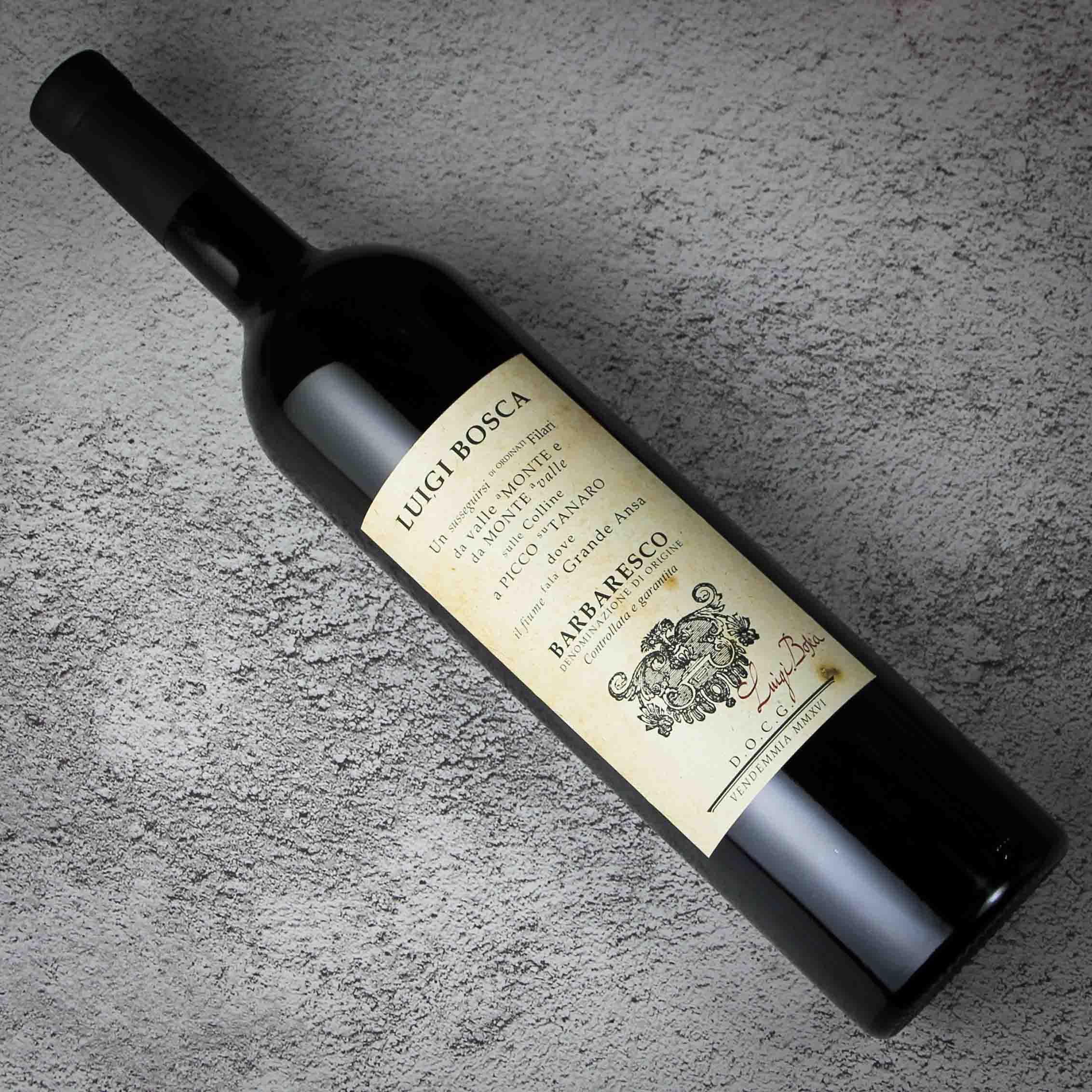 意大利皮埃蒙特佰世嘉巴巴莱斯科红葡萄酒